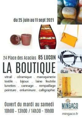 affiche boutique Luçon